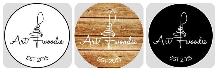 3 types logos of Art Woodie