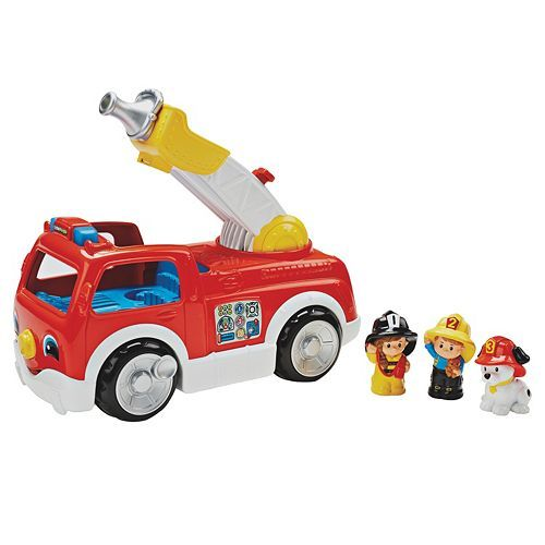 14.99 Fisher-Price Little People Lift & Lower Fire Truck