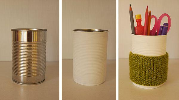 Suzon Grisou: Recycler des boîtes de conserve