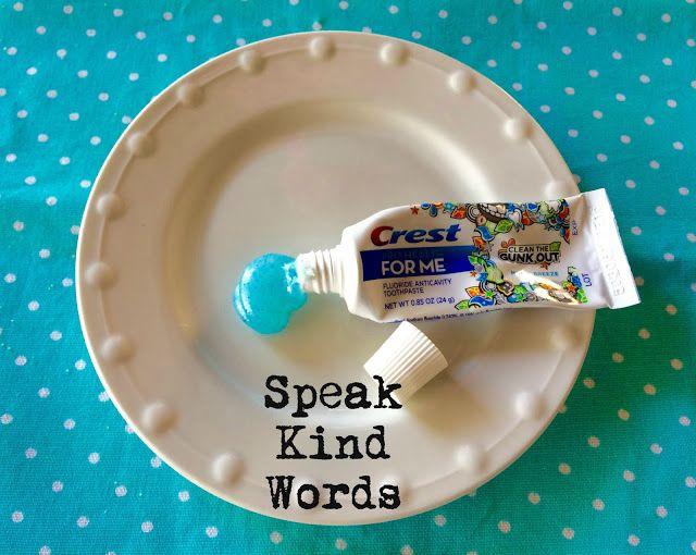 In need of a QUICK AND EASY Family Home Evening lesson? Speaking Kind Words to One Another FHE object lesson.