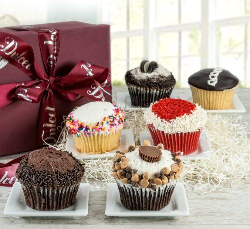 Dulcets Cupcake Best Sellers Signature Gift Basket