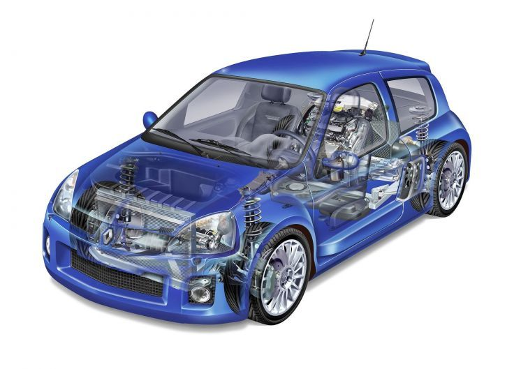 renault clio v6 renault sport pinterest cutaway cars and car engine. Black Bedroom Furniture Sets. Home Design Ideas