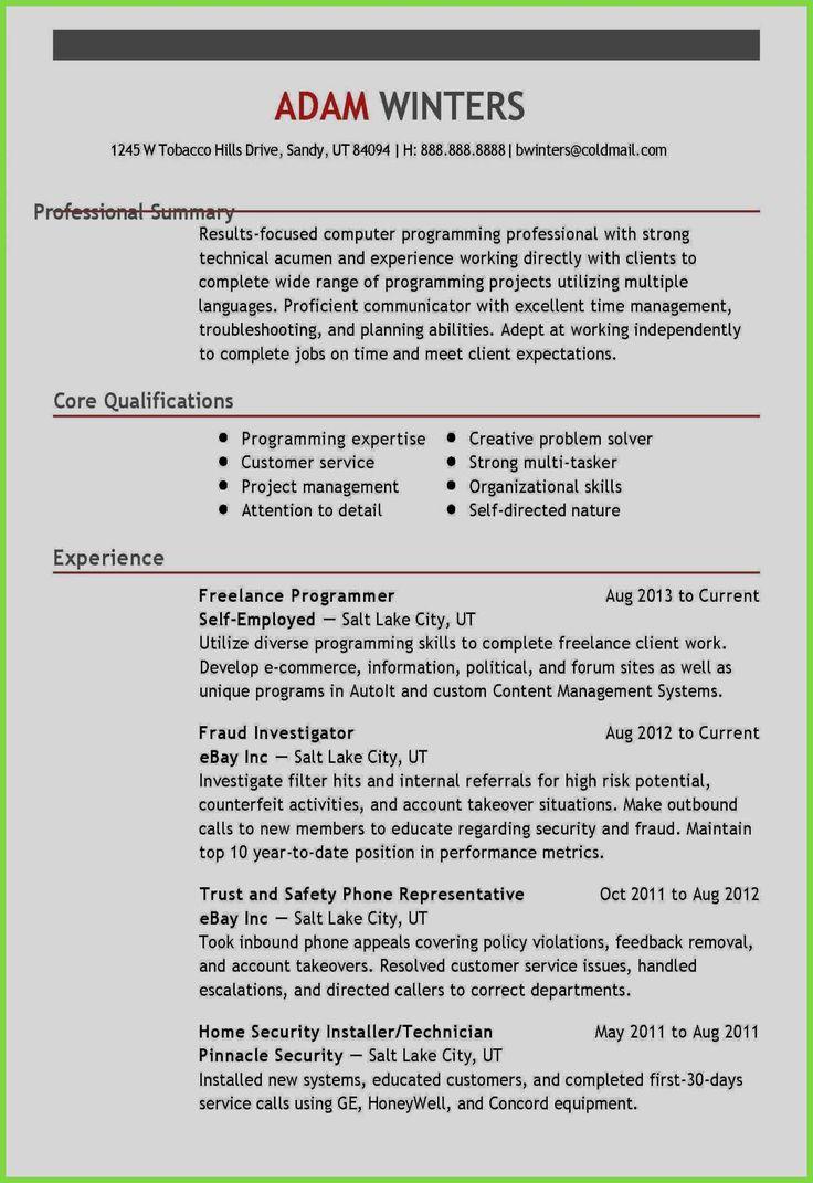 Resume Sample Accounting Technician Inspiring Photography