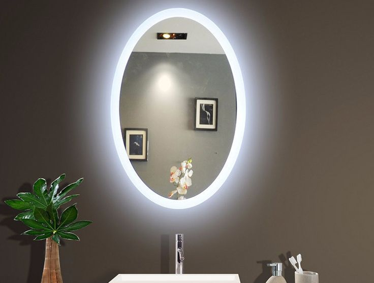 Wide Illuminated Bathroom Mirror With Backlit Effect For Double Or Wide Basins: Best 25+ Backlit Bathroom Mirror Ideas On Pinterest