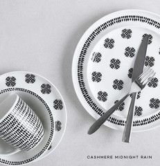 Midnight Rain Dinnerware #Maxwell & Williams #Contemporary #Classic #Black/White #Dinnerware