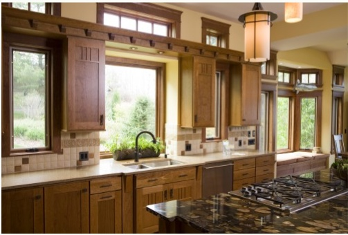 prairie style kitchen cabinets 17 best images about prairie style kitchen on 24876