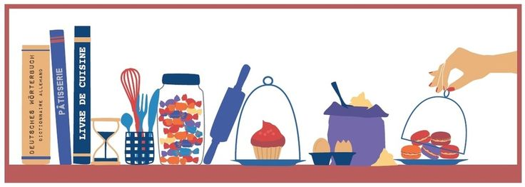 www.memoiressucrees.com - Illustration par Adelaide Ka - blog culinaire - französische Rezepte auf Deutsch - französisch Backen