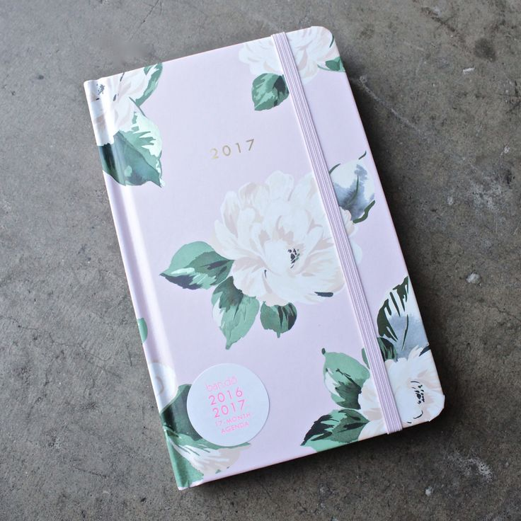 ban.do 17  month classic agenda - lady of leisure, floral planner - shophearts - 1