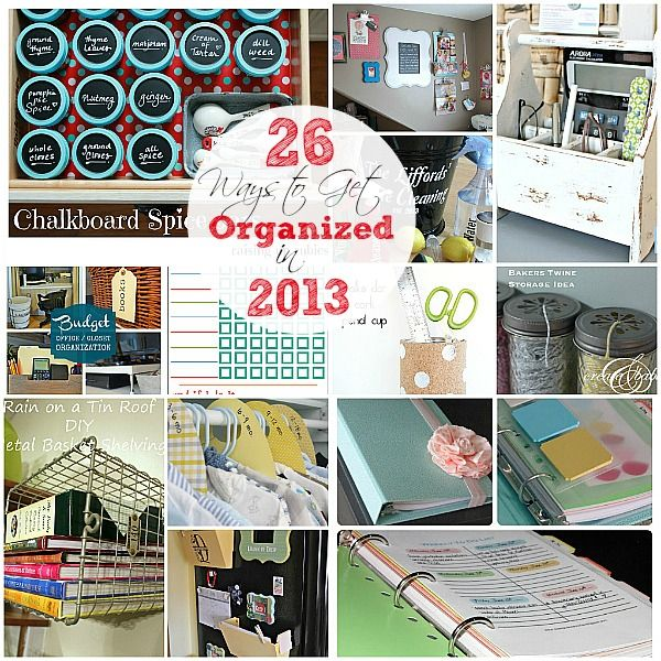Friday Favorites - Home Organization Ideas - DesignedByBH