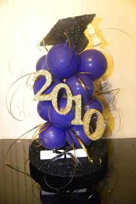 1000 images about graduation 2016 on pinterest for Balloon decoration ideas for graduation