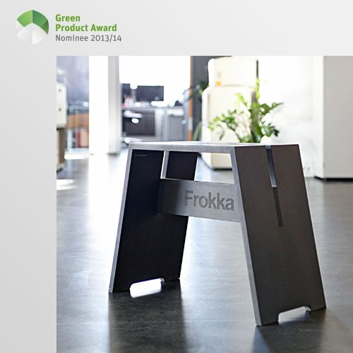 5th place Professionals Green Product Award 2013/14, category furniture: Frokka is a means of promoting spontaneous assembling again. Up to speed, on a par with and as soon as humanly possible. Simply stacked, the stool is close at hand. Whether it's through spontaneous discussion or a joint search for solutions, a working atmosphere that promotes creativity is quickly and easily achieved. Even at home it makes it possible to organise spontaneous gatherings.
