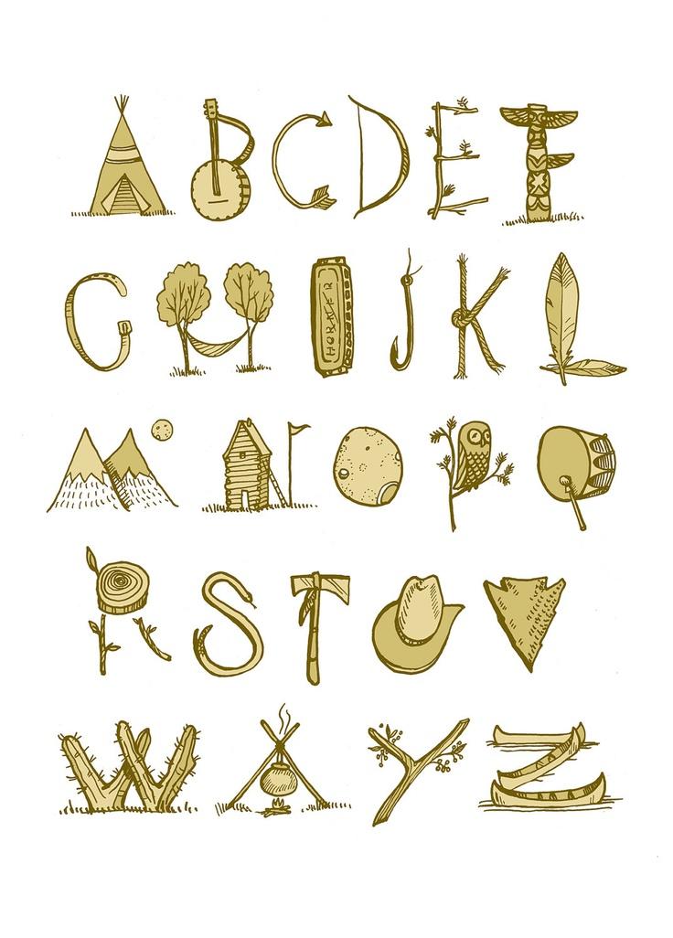 Wild West Alphabet