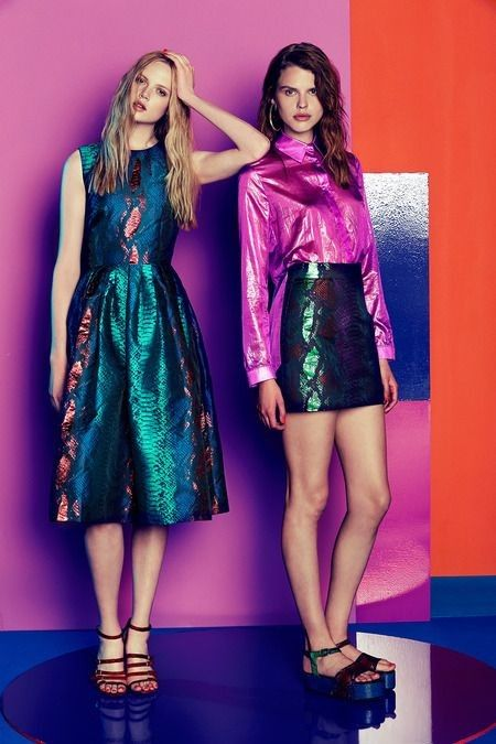21 Looks by British Fashion Brand House of Holland Glamsugar.com House of Holland 2015 Collection