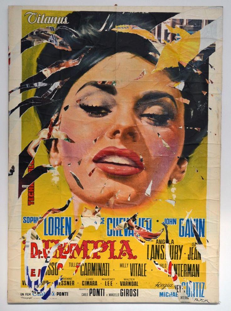 Mercedes Of Hunt Valley >> 13 best Mimmo Rotella - Italian Pop Art Artist images on Pinterest   Pop art artists, Collage ...