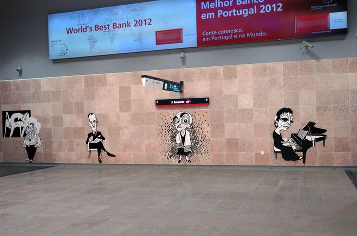 Sítio da Câmara Municipal de Lisboa: Linha Vermelha do Metro chega ... www.cm-lisboa.pt800 × 531Pesquisar por imagens Moscavide, Encarnação/Olivais e Aeroporto são as três novas estações do troço de 3,3 km agora aberto à exploração comercial. O Metropolitano de Lisboa ...