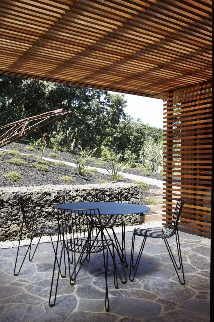 Bethells Bach by Herbst Architects | The Tio Table and Chairs | https://simonjamesdesign.com/massproductions/