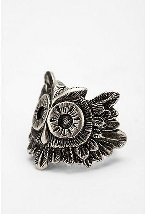 Never enough owls.: Diamonds Rings, Owls Art, Heart Owls, Pretty Jewelry, Diy Owls, Beautiful Clothing, Bling Bling, Awesome Stuff, Owls Rings