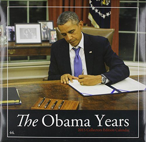 Shades of Color 12 by 12 Inches 2015 The Obama Years African American Calendar (15OB)