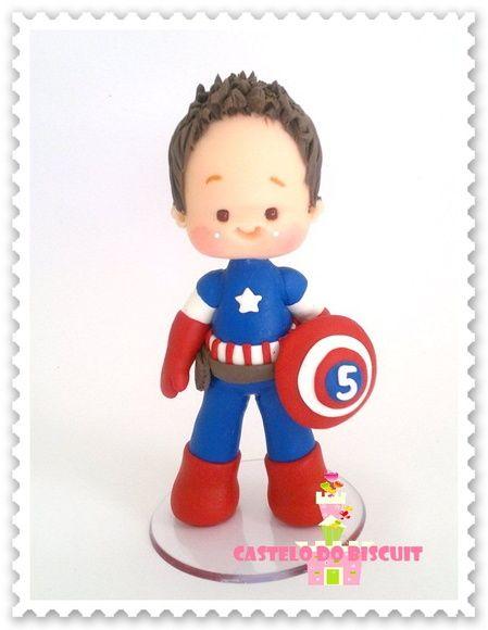 Topo de Bolo tema personalizado com herói desejado. Feito sob encomenda…