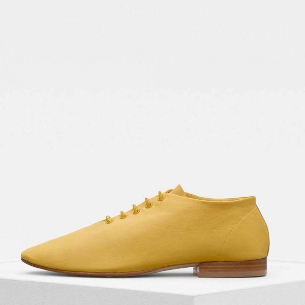Celine Women Shoes Soft Dance Flat Lace
