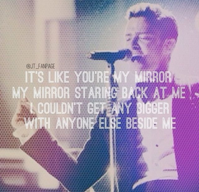 1000 images about justin timberlake on pinterest kevin for Mirror mirror lyrics
