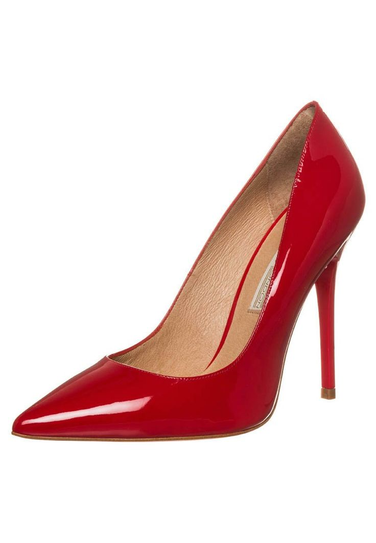Buffalo Klassiske pumps - patent leather red - Zalando.no