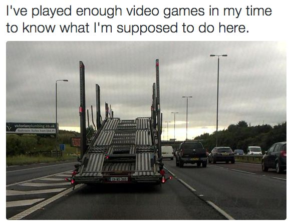 If playing <i>Grand Theft Auto</i> taught you anything, you'll be fine jumping this ramp.