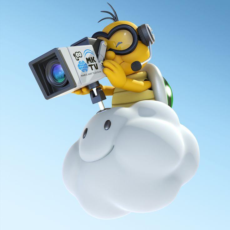 Lakitu Cameraman - Mario Kart 8