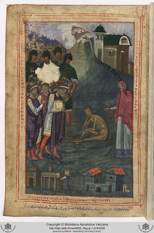 461v Trium amicorum (Eliphaz, Baldad, Sophar) coram Iobi pictura