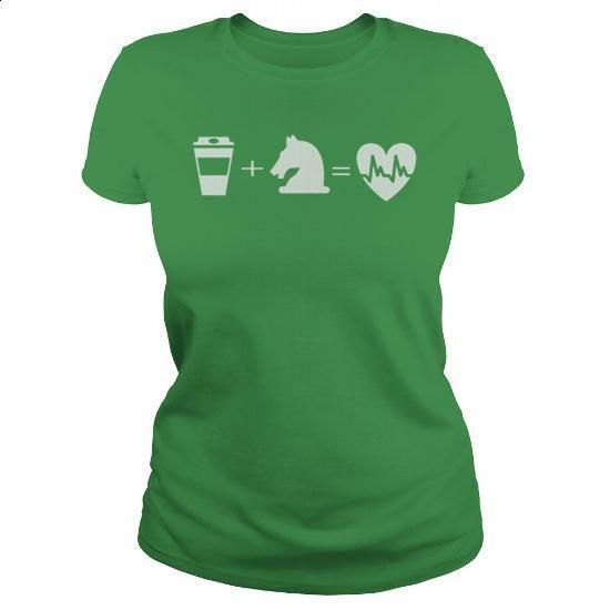 Coffee + Horses = Life Equestrian Tee - #custom sweatshirt #long sleeve tee…