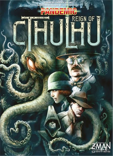 Pandemic: Reign of Cthulhu - Aug 2016