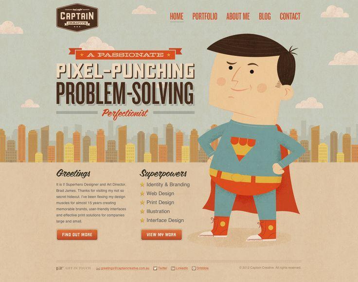 """Attēlu rezultāti vaicājumam """"Captain Creative website creativebloq.com"""""""