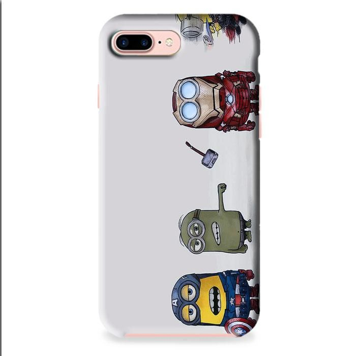 Minions Avenger iPhone 7 3D Case Dewantary