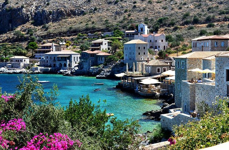 Postcards From Greece - Limeni In Mani