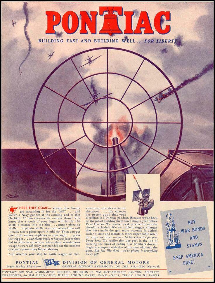 PONTIAC WAR PRODUCTION LIFE 12/20/1943 p. 21