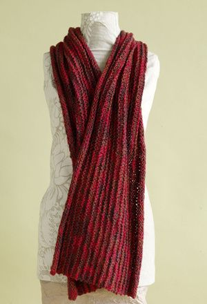 Lions Knitting Patterns : Free Knitting Pattern: Berry Bright Shawl (this is a