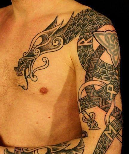 Vikingos Tatuajes Para Hombres