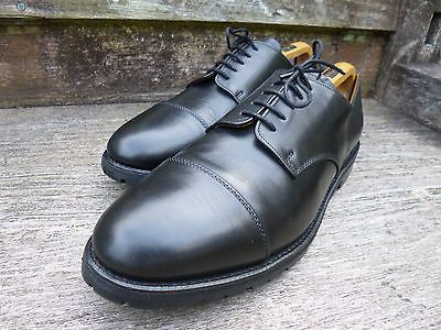 Alfred #sargent #derby shoes- #black – uk 11.5 – excellent– good for chur, View more on the LINK: http://www.zeppy.io/product/gb/2/191909660035/