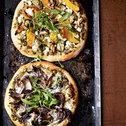 Pizza Two Ways from The Meat Free Monday Cookbook by Annie Riggs