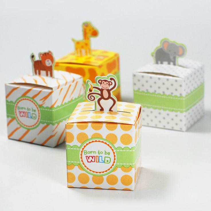 Jungle Safari Treat Boxes