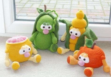 358 besten Amigurumi Bilder auf Pinterest   Häkelpuppen, Spielzeug ...