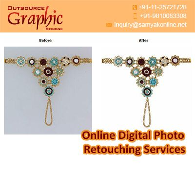 Online Digital Photo Retouching Services are the best in quality, latest and…