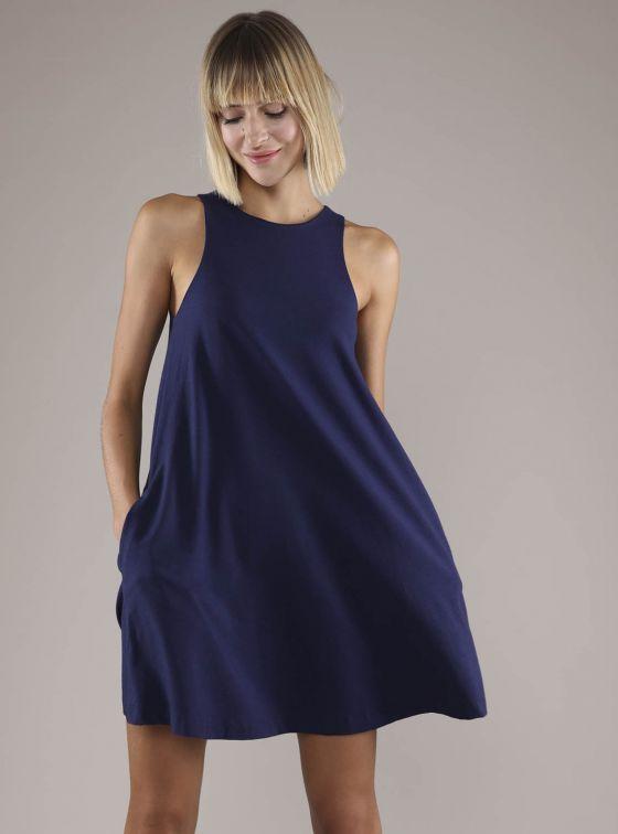Pima Trapeze Dress
