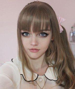 girls who look like dolls