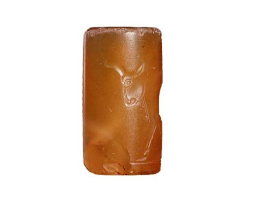 Persian Cylinder Seal, Achaemenid Period, c. 5th... at Ancient & Medieval History