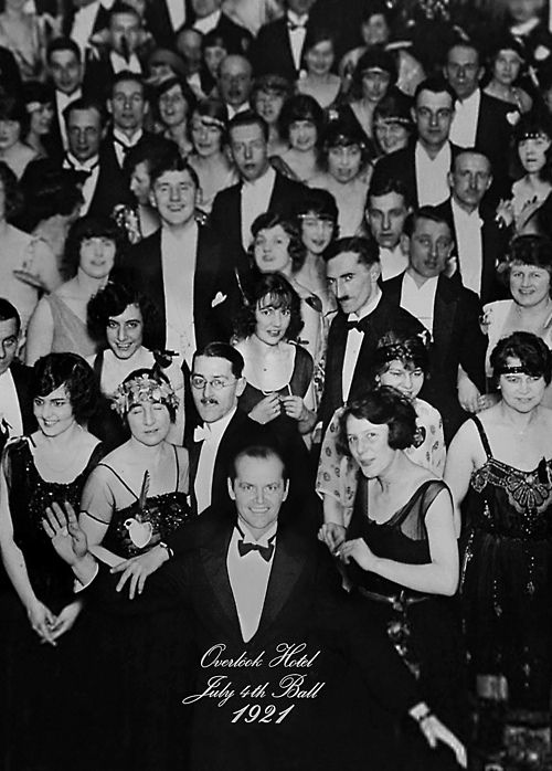 "Overlook Hotel, July 4th Ball, 1921 ""I beg your pardon, sir, but YOU are the caretaker, you have ALWAYS been the caretaker"" #LivingRoom #Office"