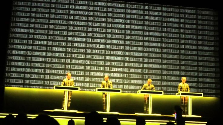 Kraftwerk-Numbers/Computer World (Live At The Tate Modern London 09/02/2013
