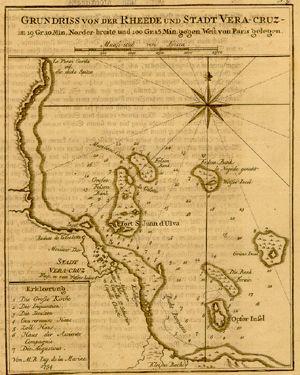Historic Latin America Map