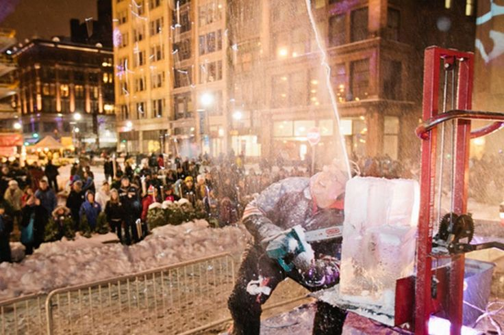 The annual New Year's Eve event features food, fireworks, music and more.