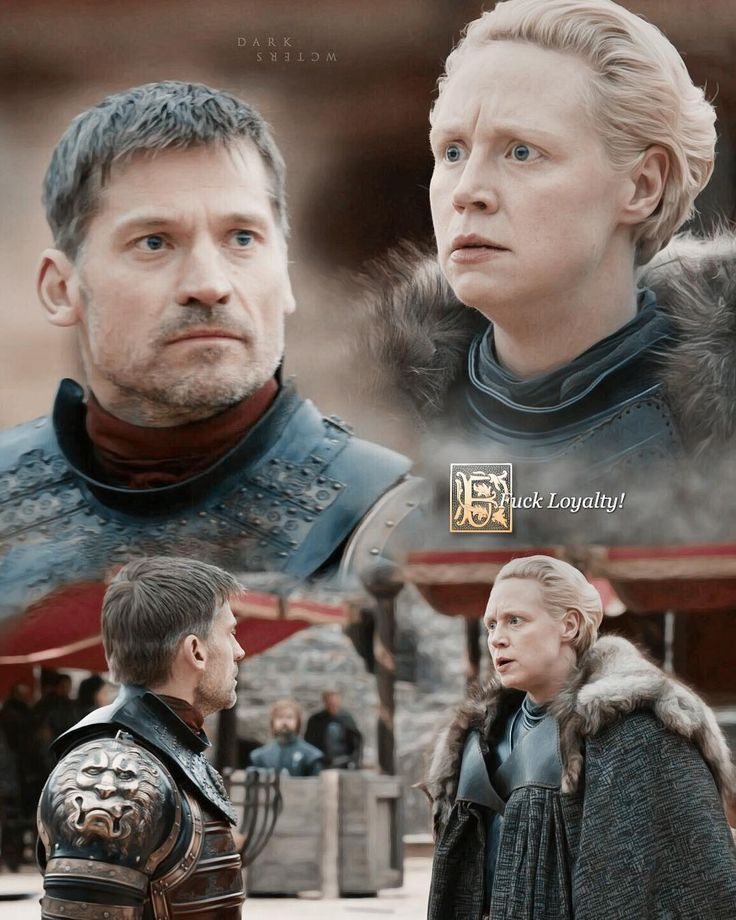Brienne of Tarth and Jaime Lannister #GameofThrones #season7